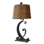 "Rendall Collection 1-Light 28"" Metal Table Lamp 26417"