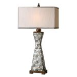 "Consilina Collection 1-Light 33"" Shell Table Lamp 26820-1"