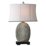 "Seveso Collection 1-Light 30"" Light Blue Table Lamp 26837-1"