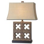 "Vettore Collection 1-Light 28"" Bronze Table Lamp 27405"