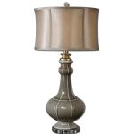 Uttermost Racimo Gray Ceramic Table Lamp 27427-1