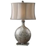 Uttermost Navelli Distressed Silver Table Lamp 27428