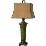 "Olea Collection 1-Light 38"" Green Table Lamp 27436"