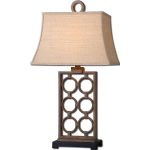 "Dardenne Collection 1-Light 31"" Bronze Table Lamp 27453"