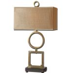 "Rashawn Collection 1-Light 32"" Coffee Bronze Table Lamp 27498-1"