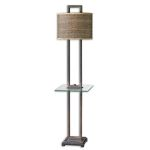 "Stabina Collection 2-Light 67"" End Table Floor Lamp 28718-1"