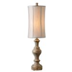 "Corinaldo Collection 1-Light 40"" Wood Buffet Lamp 29541"
