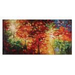 Bright Foliage Collection Canvas Art 32214