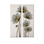 Floral Glow Collection Floral Art (Set of 2) 34201
