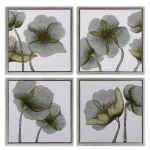 Mini Floral Glow Collection Wall Art (Set of 4) 34216