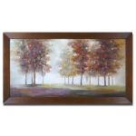 Trees In The Mist Collection Framed Art 34224