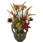 Daylilies In Tuscan Urn Collection 60084