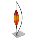 "Accents Collection Chrome Decorative Piece ""Arc Tube"" 794335"