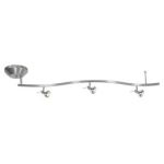 Versahl Collection 3-Light Matte Chrome Semi-Flush 63033ET-MC