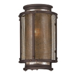 "Copper Mountain Collection 1-Light 10"" Bronze Indoor/Outdoor Wall Sconce B3271"
