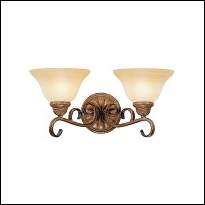 2-Light Bathroom Light Fixtures