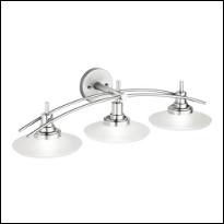 3-Light Bathroom Vanity Lighting Fixtures
