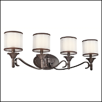 4-Light Bathroom Light Fixtures
