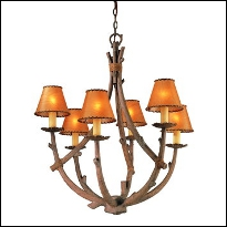Rustic & Lodge-Style Chandeliers