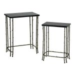 Bamboo Nesting Tables 02045