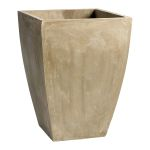 Large Curve Square Planter 04406