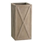 Large Deco Square Planter 04421