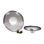 Large Art Glass Bowl 04592