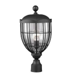 Feiss 1 - Light Outdoor Lantern - OL9807TXB