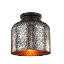Feiss 1 - Light Hounslow Flushmount - FM408ORB