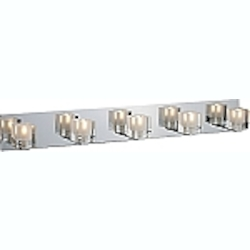 Blocs Series Polished Chrome 5-Light 35