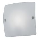 "Aero Collection 1 Light 13"" Matte Nickel Wall/Ceiling Light 83242A"