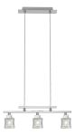 "Tanga 1 Collection 3-Light 18"" Matte Nickel Trestle Hanging Light 86565A"