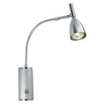 "Halva 1 Collection 1-Light 14"" Chrome Wall Light 88361A"