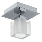 "Bantry Collection 1 Light 5"" Matte Nickel Wall/Ceiling Light 90117A"