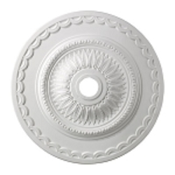 "Brookdale Collection 30"" White Ceiling Medallion M1008WH"