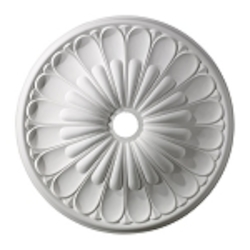 "Melon Reed Collection 32"" White Ceiling Medallion M1009WH"