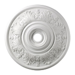 "Laureldale Collection 30"" White Ceiling Medallion M1014WH"