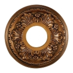 "Acanthus Collection 11"" Antique Bronze Ceiling Medallion M1000AB"