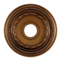 "Campione Collection 16"" Antique Bronze Ceiling Medallion M1001AB"