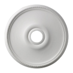 "Brittany Collection 19"" White Ceiling Medallion M1003"