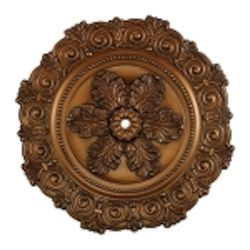 "Marietta Collection 33"" Antique Bronze Ceiling Medallion M1011AB"