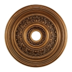 "English Study Collection 24"" Antique Bronze Ceiling Medallion M1012AB"