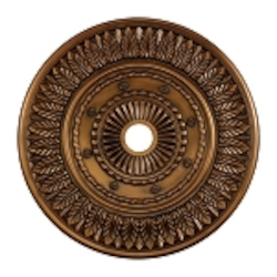 "Corinna Collection 33"" Antique Bronze Ceiling Medallion M1013AB"