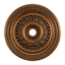"English Study Collection 32"" Antique Bronze Ceiling Medallion M1022AB"