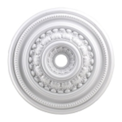 "English Study Collection 32"" White Ceiling Medallion M1022WH"