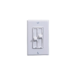 Monte Carlo Ceiling Fan White Mulch-Function Wall Switch ESSWC-2