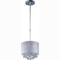 "Veil Collection 5-Light 16.25"" Polished Chrome Pendant E22384-120PC"