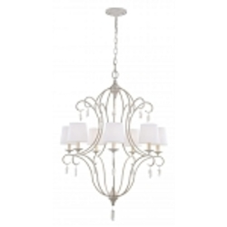 Feiss 7 - Light Caprice Chandelier - F2933/7CHKW