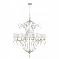 Feiss 9 - Light Caprice Chandelier - F2934/9CHKW