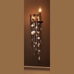 "Cascade Collection 1-Light 5"" Heritage Bronze Wall Sconce with Shade WB1570HTBZ"